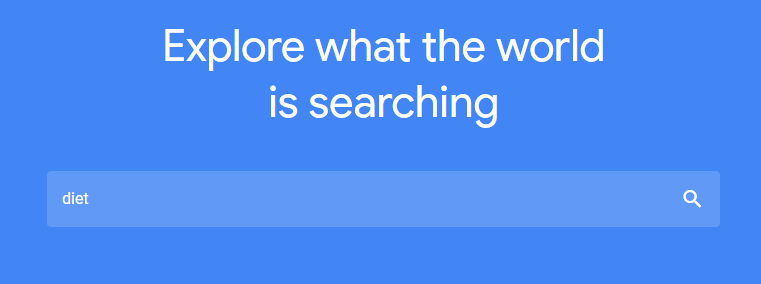 google trends search