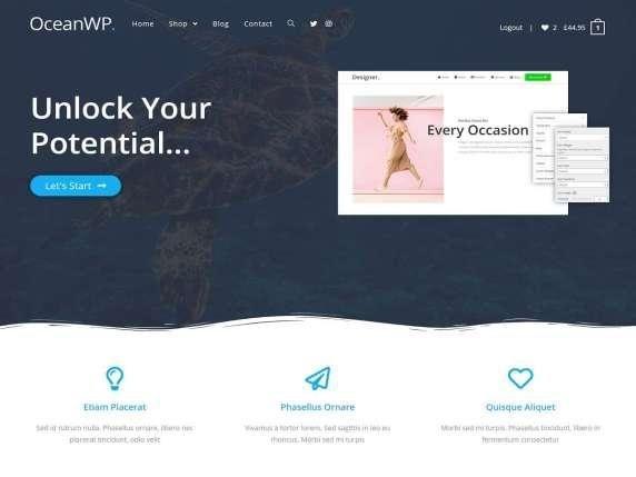 Ocean WP Unlock