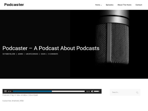 Podcaster Secondline