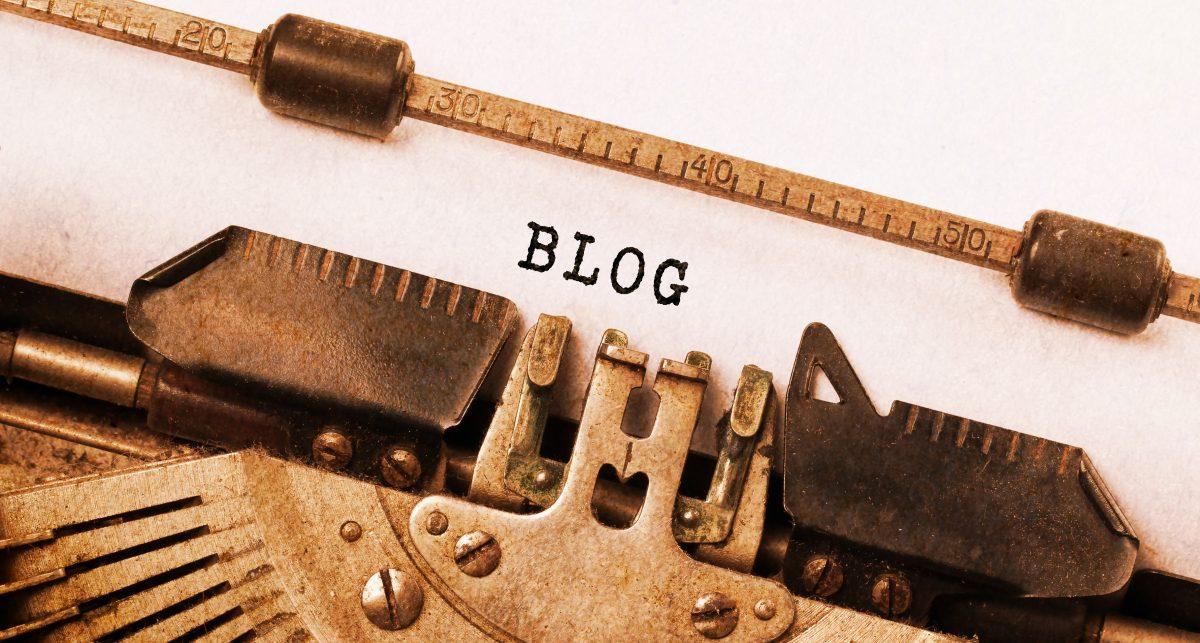 Vintage Typewriter Typing Blog