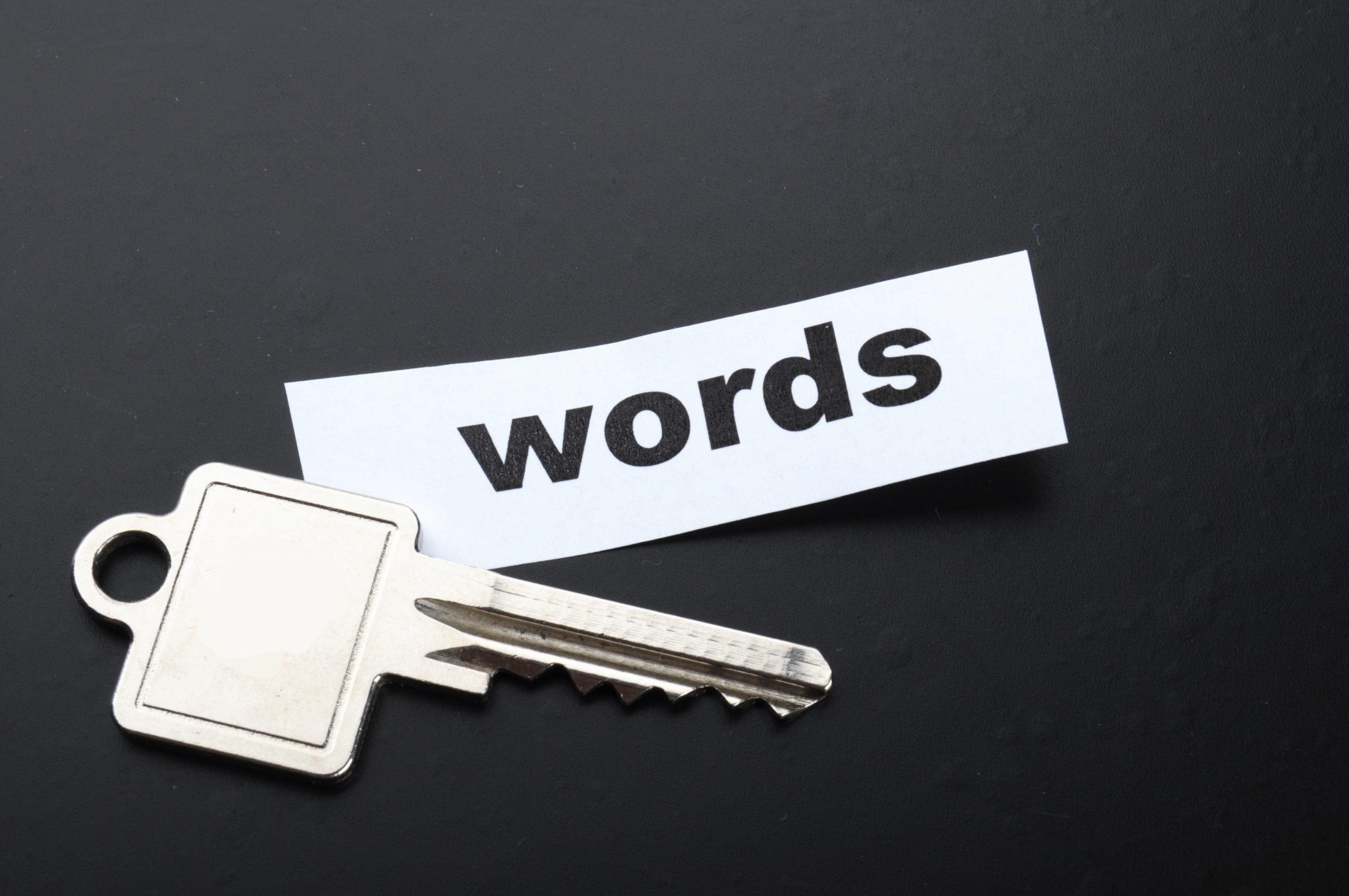 choose great keywords