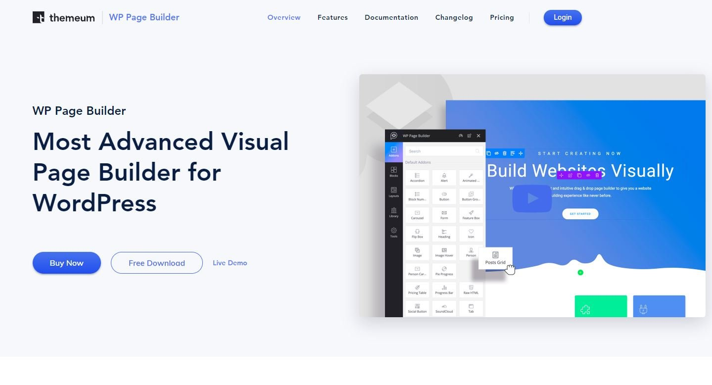 WP Page Builder By Themeum